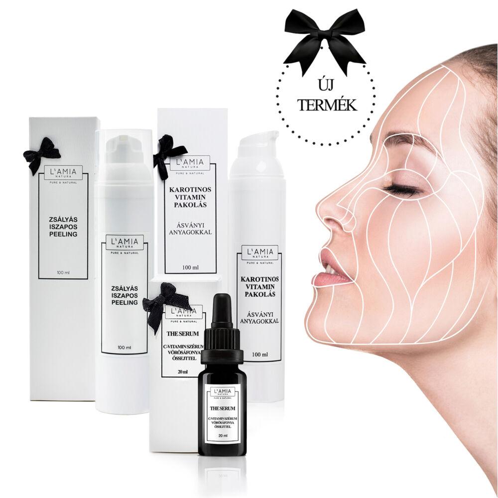 C-vitamin szérum, növényi őssejt, organikus arcápolás, természetes méregtelenítés, méregtelenítő pakolás, természetes bőrradír, bőrhámlasztás természetesen