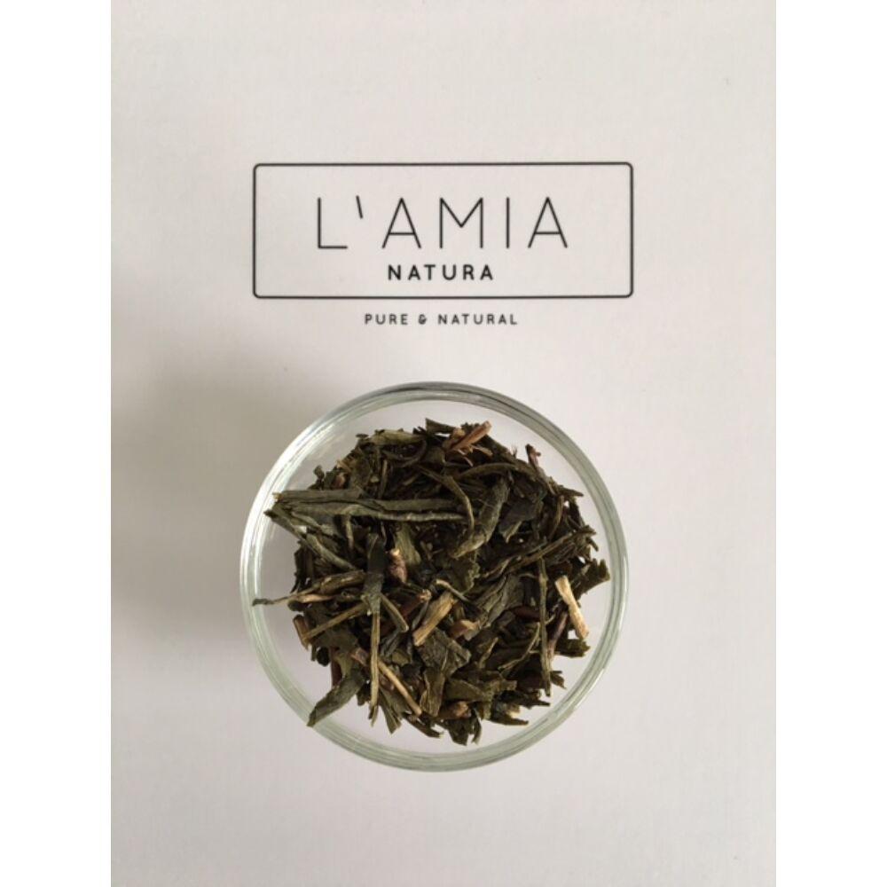 Zöld tea levél szárított